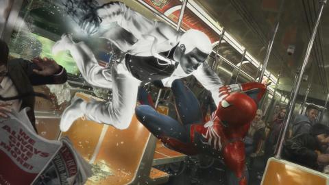 Spider-Man se montre à travers plusieurs artworks