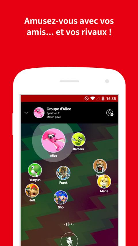 L'application Nintendo Switch Online est disponible sur iOS et Android