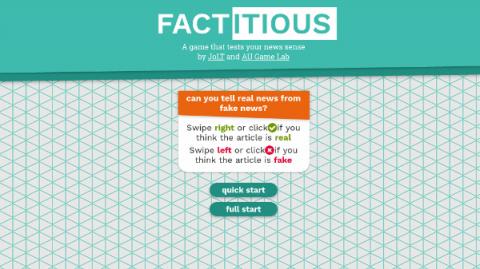 Factitious sur Web