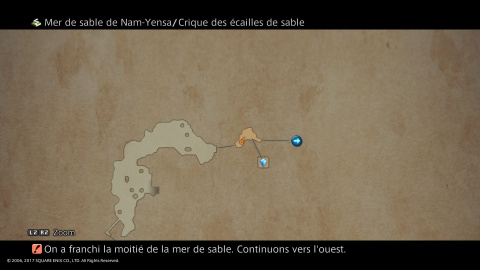 Episode 20 : La mer de sable de Nam-Yensa