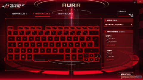 Guide PC Portable Gamer : Test du modèle Asus ROG Zephyrus (GX501)