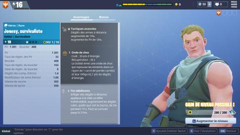 Jonesy, survivaliste