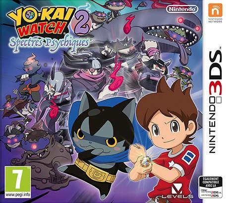 Yo-kai Watch 2 : Spectres Psychiques sur 3DS