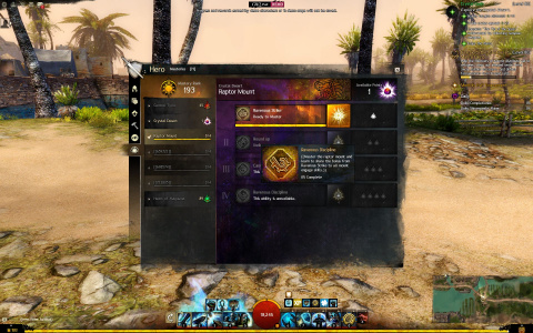 Guild Wars 2 : Path of Fire, des montures pour la seconde extension !