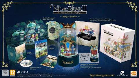 Ni no Kuni 2 présente ses éditions collector et son season pass