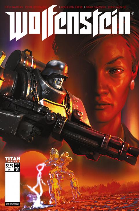 Wolfenstein : premier aperçu des comics