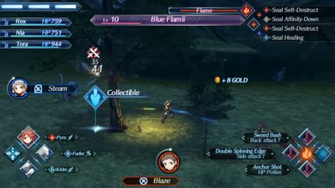 """Des """"interactivités en ligne"""" dans Xenoblade Chronicles 2"""