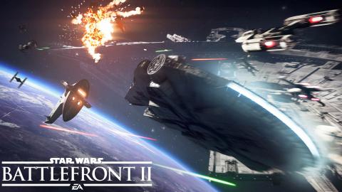 Star Wars : Battlefront II s'offre un superbe trailer du mode Assaut des chasseurs