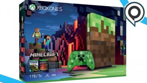 gamescom : Une Xbox One S Minecraft annoncée en vidéo !