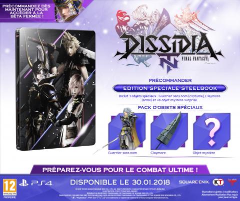 Dissidia : Final Fantasy NT arrivera en France le 30 janvier 2018