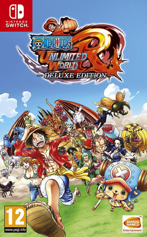 One Piece Unlimited World Red Deluxe Edition sur Switch