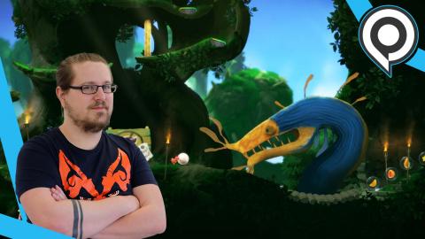 gamescom : Yoku's Island Express : jouez au flipper avec un bousier