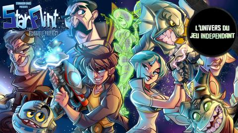 L'univers du jeu indépendant - Starflint : une aventure spatiale déjantée !
