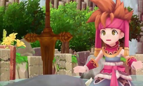 Un remake 3D de Secret of Mana annoncé