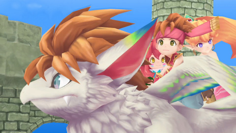 Un remake 3D de Secret of Mana sur les rails