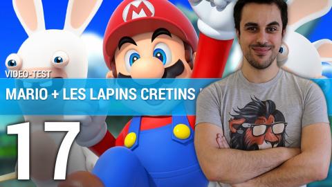 Jaquette de Mario + The Lapins Crétins Kingdom Battle : Un tactical de grande qualité sur Switch