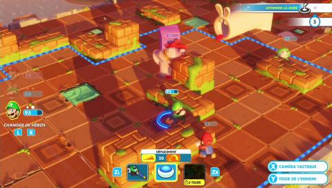 Mario + The Lapins Cretins : Kingdom Battle - Quand le tactical s'ouvre au grand public