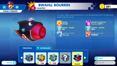 Black Friday : Mario + The Lapins Crétins Kingdom Battle tombe à 21,99€