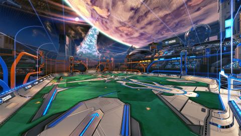 Rocket League : du changement à venir dans Terrain vague et Starbase ARC