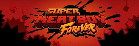 Super Meat Boy : Forever sur PS4
