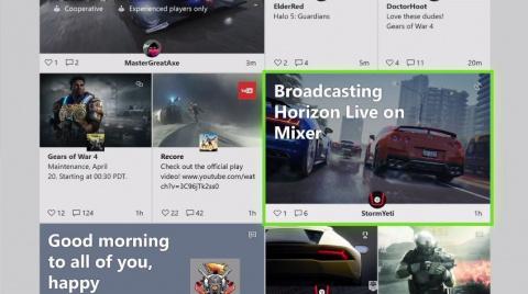 Xbox One : l'interface blanche à l'essai pour les Insiders alpha