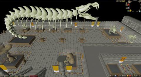 RuneScape Old School accueille une nouvelle contrée, l'île fossile