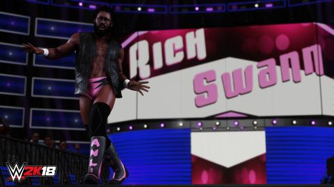 WWE 2K18 fait entrer Breezango dans l'arène, et la fin du roster