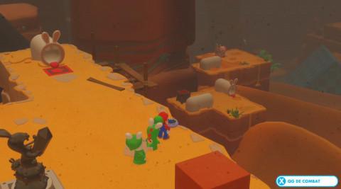 Monde 2 - 6 : Les boucliers du désert