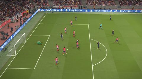 Pro Evolution Soccer 2018 : La construction sans la finition