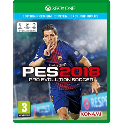 Pro Evolution Soccer 2018 sur ONE