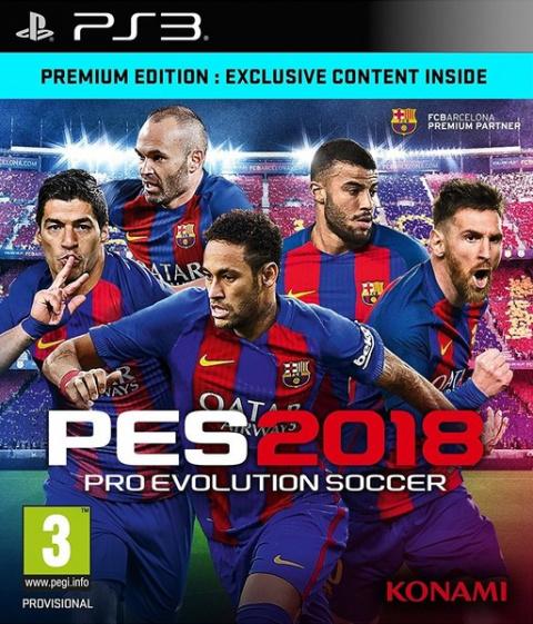 Pro Evolution Soccer 2018 sur PS3