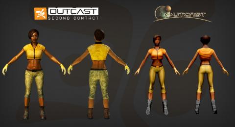 Outcast - Second Contact : Une nouvelle vague d'images