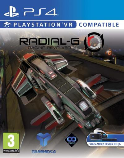 Radial-G : Racing Revolved sur PS4