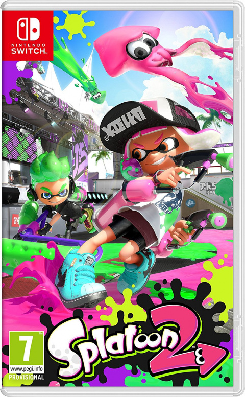 Splatoon 2 sur Switch