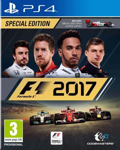 F1 2017 sur PS4