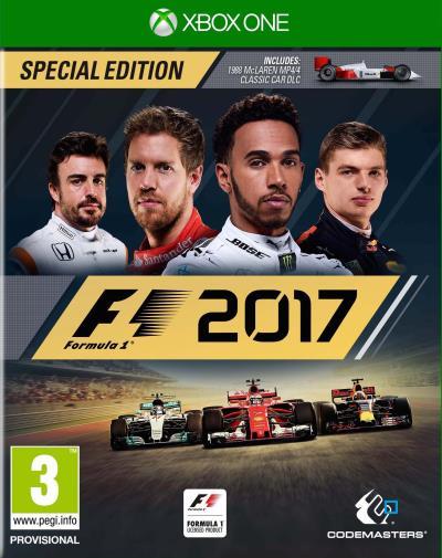 F1 2017 sur ONE