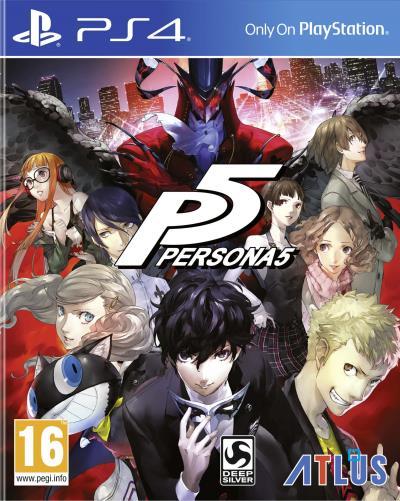 Persona 5 sur PS4