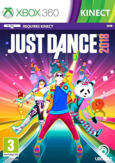 Just Dance 2018 sur 360
