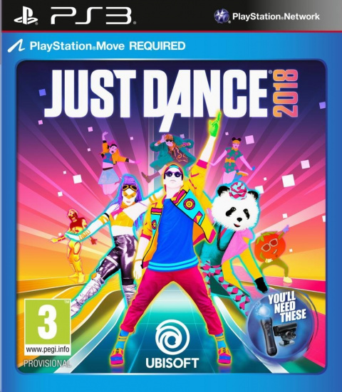 Just Dance 2018 sur PS3