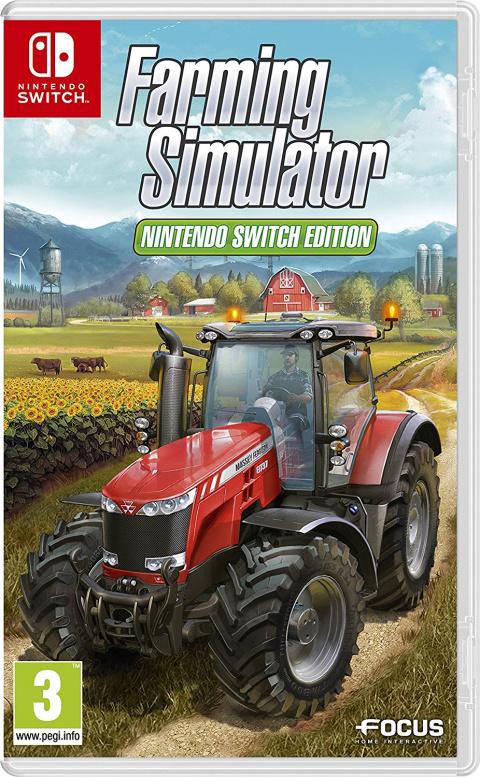 Farming Simulator Nintendo Switch Edition sur Switch