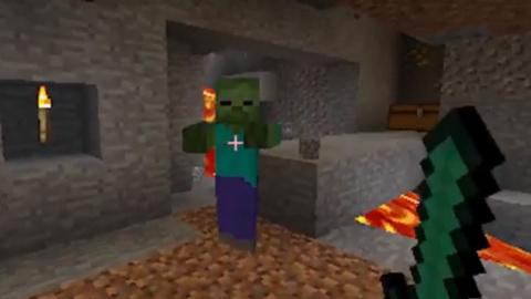 Jaquette de Minecraft : New Nintendo 3DS Edition annoncé et sorti dans la foulée... aux USA