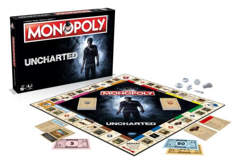 Uncharted a le droit à son propre Monopoly