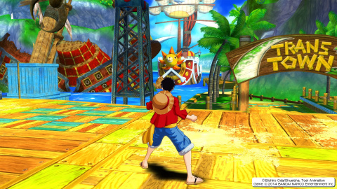 One Piece Unlimited World Red Deluxe Edition : Gomu Gomu Remaster HD !