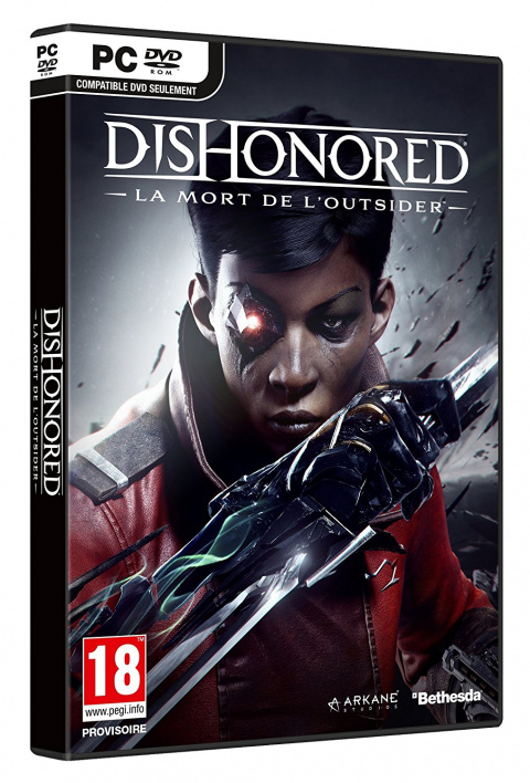 Dishonored : La Mort de l'Outsider sur PC