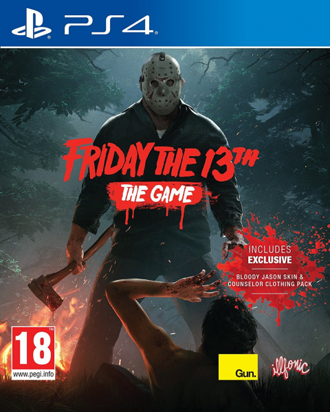 Friday the 13th: The Video Game sur PS4