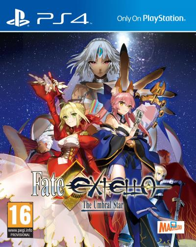 Fate/Extella : The Umbral Star sur PS4
