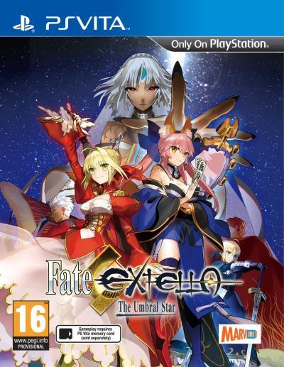Fate/Extella : The Umbral Star sur Vita