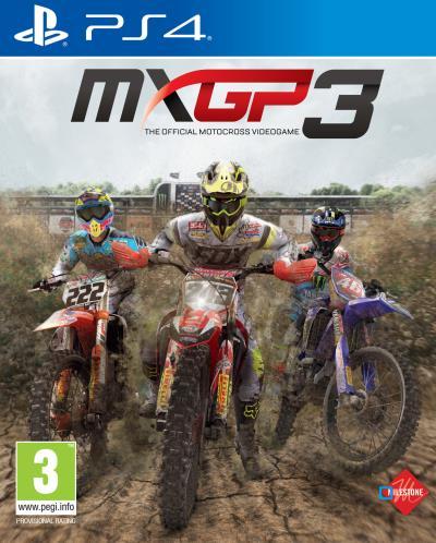 MXGP 3 : The Official Motocross Videogame sur PS4