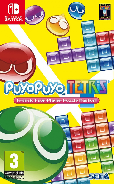 Puyo Puyo Tetris sur Switch