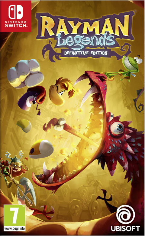 Rayman Legends : Definitive Edition sur Switch
